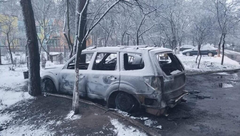 В Коцюбинском сожгли автомобиль депутата Ирпенского Горсовета