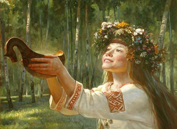 Картина Андрея Шишкина - Ирина